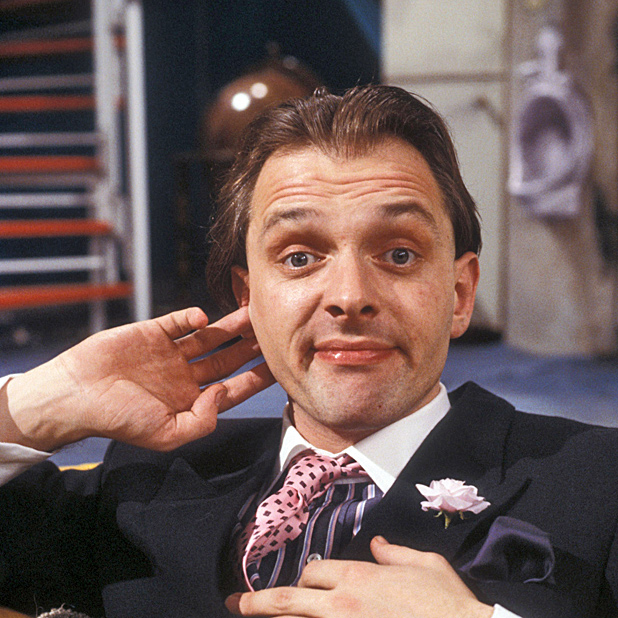 rik mayall man down
