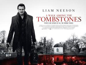 A walk Among the Tombstones Poster 2