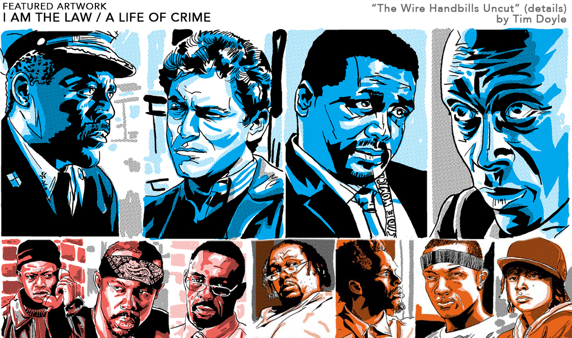 "Exclusive Preview: Hero Complex Gallery\'s ""I Am The Law / A Life of ..."