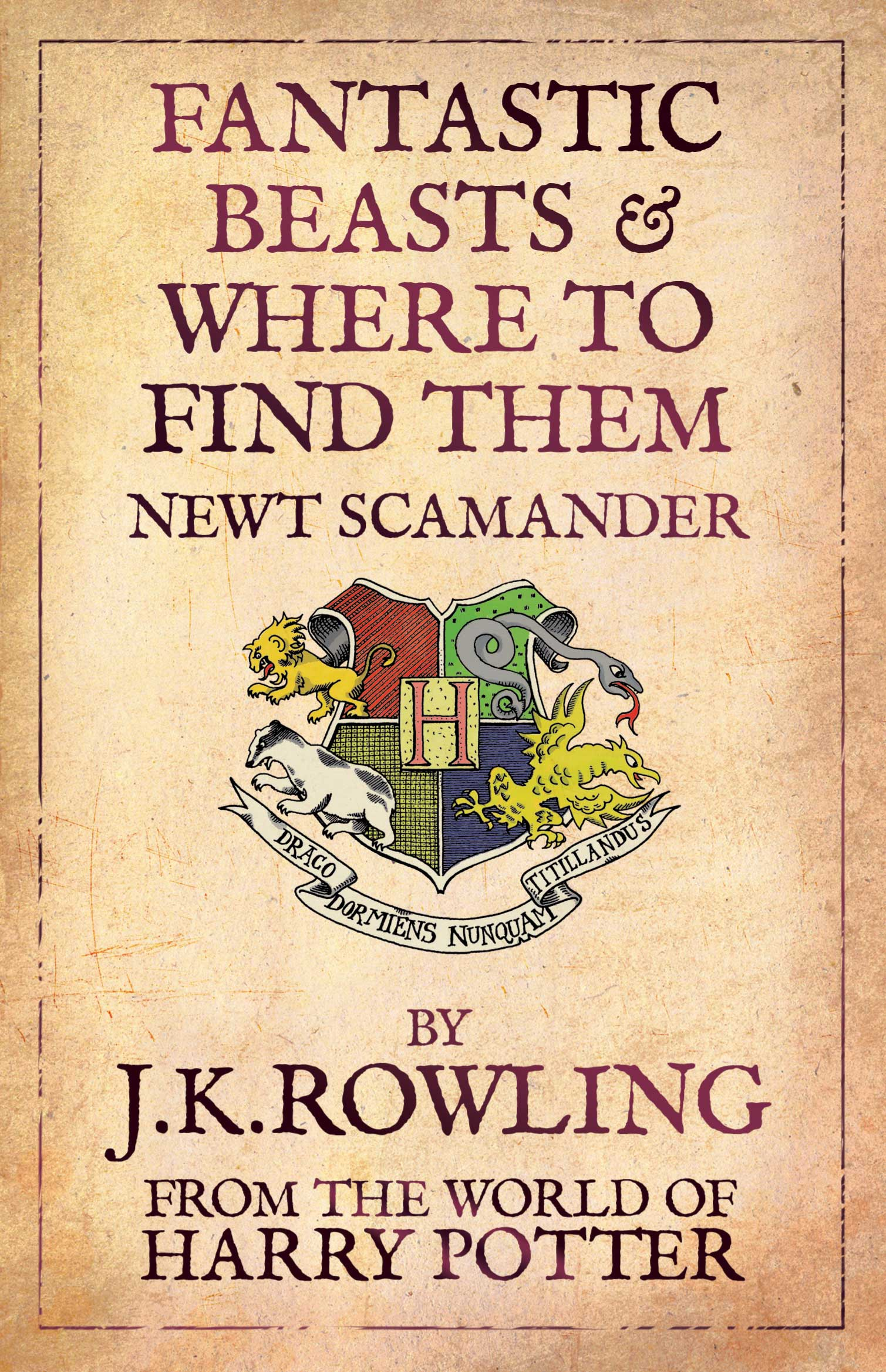 Fantastic Beasts and Where to Find Them by J. K. Rowling (Paperback, 2009)