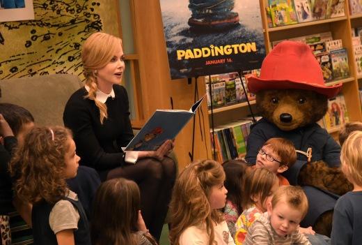 Nicole Kidman Paddington Storytime Event At Barnes & Noble Celebrating Upcoming Movie Opening January 16