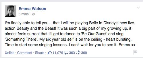Emma Watson Email Address Emma Watson Age