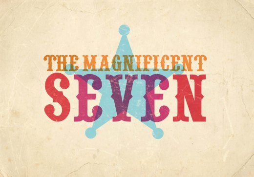 THE MAGNIFICENT SEVEN logo