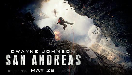 San andreas release date in Australia