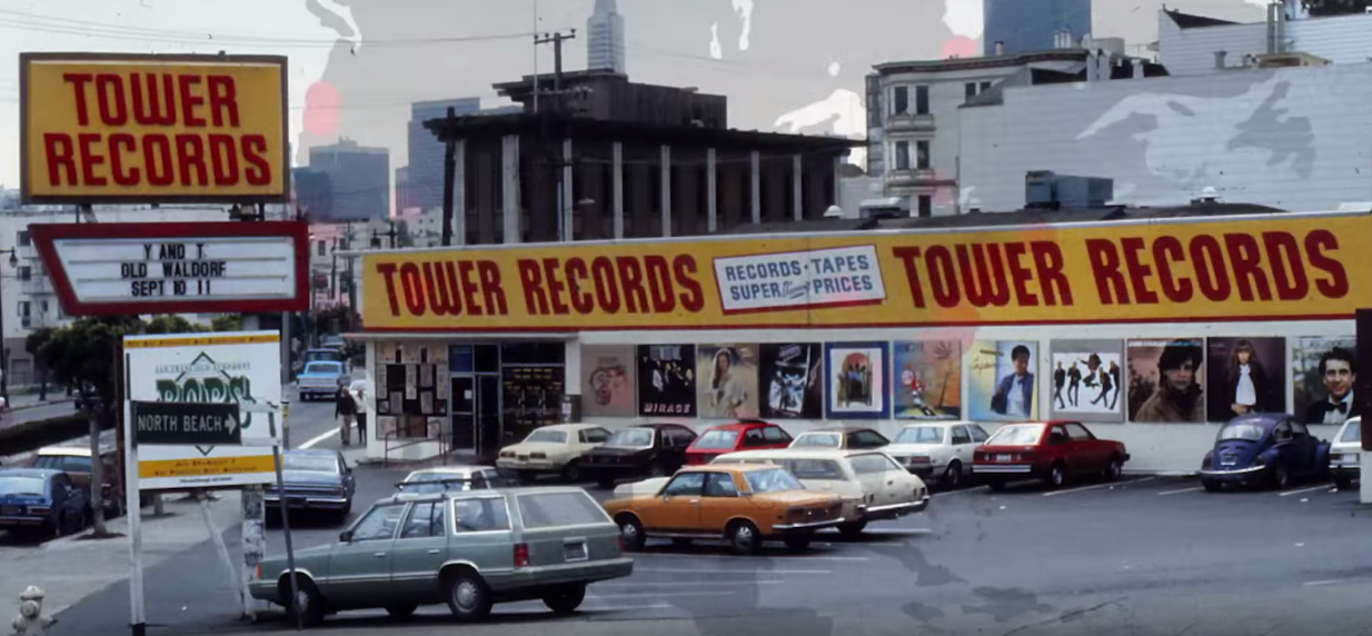 Trailer the rise and fall of tower records chronicled in for Michaels crafts los angeles