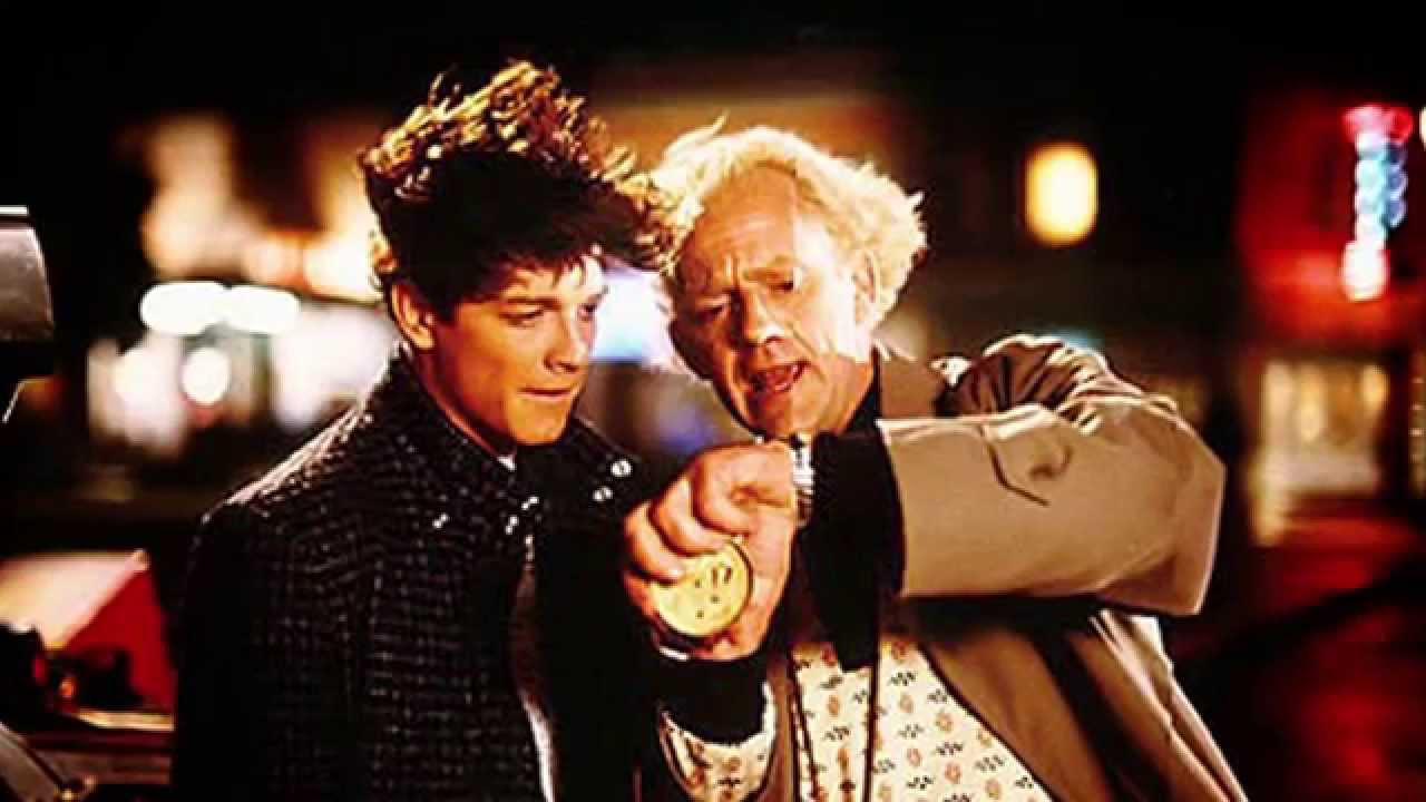 World ready for the eric stoltz back to the future footage