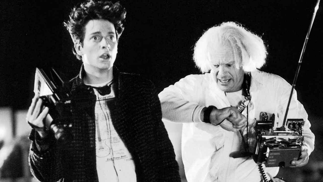 Eric Stoltz as Marty Mcfly in Back to the Future!