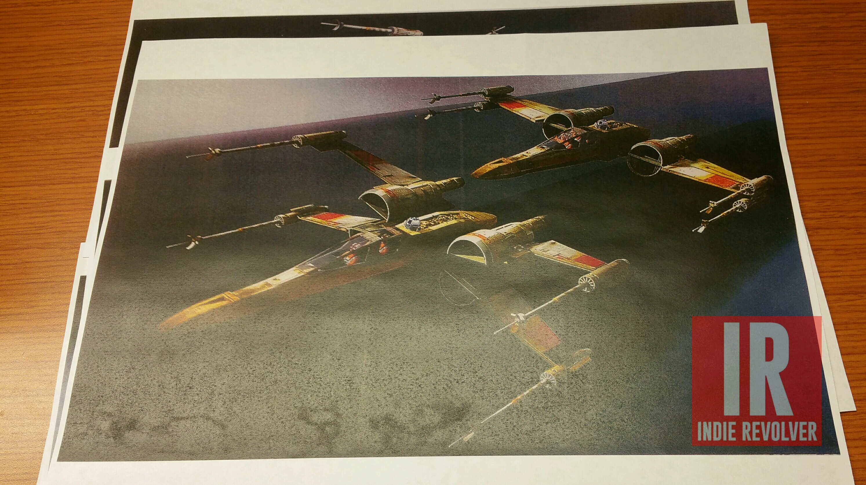 'Star Wars: The Force Awakens' Concept Art Showcases Ships of the Resistance