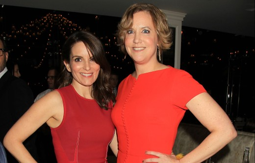 "New York, NY - 3/1/16 - Tina Fey and Author Kim Barker attend the after party at Tavern on the Green for the World Premiere of Paramount Pictures ""WHISKEY TANGO FOXTROT"". The film stars Tina Fey, Margot Robbie, Martin Freeman, Billy Bob Thornton and Christopher Abbott. It opens in theaters March 4th, 2016. PHOTO by: Dave Allocca/Starpix.."